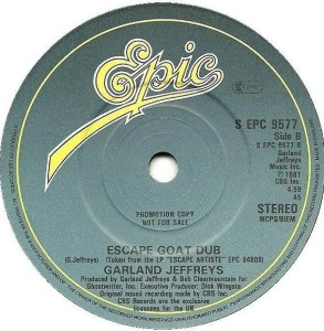 Garland Jeffreys Escape Goat Dub Epic